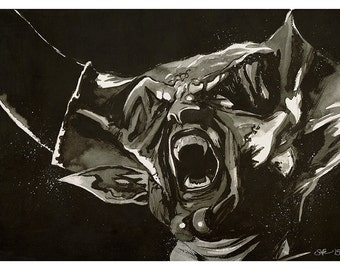 Ridley Scott's 'Legend' - Darkness (Tim Curry) art print