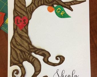 Family Tree - Paper Mosaic