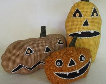 The Fall Pumpkin Farm Trio