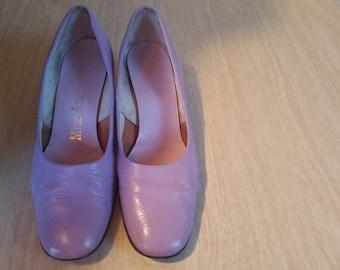 Vintage Miss America Lavender Pumps Size 8