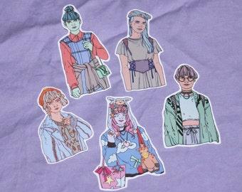Street Fashion - Sticker Set - Original Art