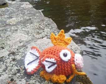 Magikarp Pokemon Amigurumi Crochet