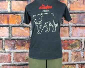 The Stranglers Feline Original 1980s Concert Tour T-Shirt