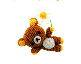 Amigurumi pattern - crochet cute animal design- crochet cat - japanese amigurumi book - crochet toy pattern - ebook - PDF - instant download