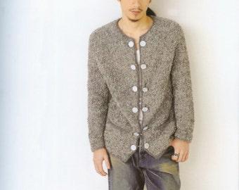 Knit Patterns - Knitting Patterns - Knit Sweater Patterns - japanese knit - japanese craft ebook - pattern - PDF - Instant Download