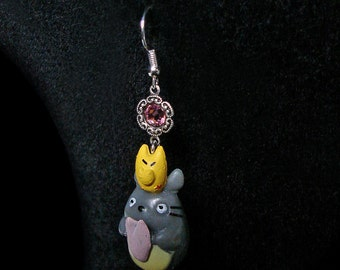 My Neighbor Totoro - Earrings - Ghibli Studios - Hayao Miyazaki - Kawaii - Jewellery - Manga - Japanimation