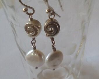 Sweet Little Pearl Earrings