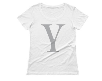 Y is for Yong Monogrammed Ladies T-Shirt