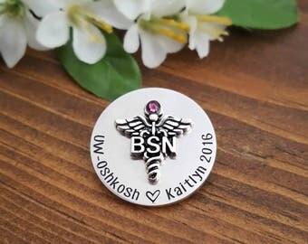 BSN Pin | Nursing Pin | Pinning Ceremony | BSN Nursing Pins | Nursing Pinning Ceremony | BSN Nurse | Nurse Graduation | Pins for Bsn Nurses