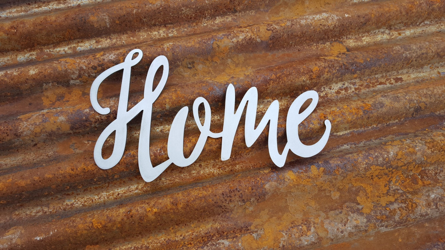 Metal Home Sign Decor Home Word Signs Metal Word Sign Farmhouse Decor Rustic Sign