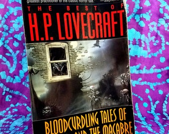 Book ~ H.P. Lovecraft ~ Best Of ~ Bloodcurdling Tales of Horror and the Macabre ~ 1982 ~ Heritage of Horror ~ Block ~ My Nostalgic Life