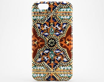 Morocco iPhone 7 Case Portugal iPhone 6 Cover Galaxy Tile Case iPhone SE Cover iPhone 7 Plus iPhone 4-5 Case iPhone SE, Ceramic iPhone Case