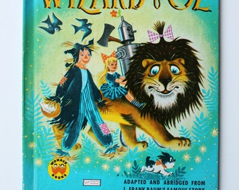 RESERVED for Michelle The Wizard of Oz Wonder Book 1977