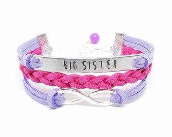 Future Big Sister Bracelet | Big Sister to be Bracelet | Big Sister Jewelry | Big Sister Gift | New Big Sister Bracelet | Baby Announcement
