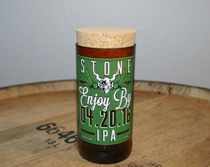 UPcycled Stash Jar - Stone Brewing Co. - Enjoy By 04.20.16 IPA