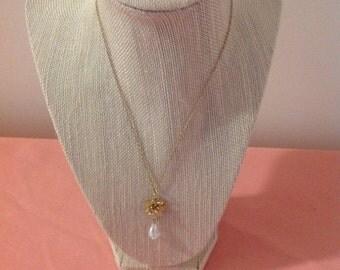 Delicate Tear Drop Necklace