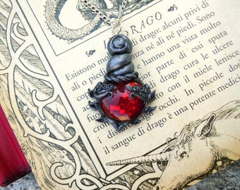 Health, Mana and Rejuvenation potion necklace, Dungeons and Dragons inspired