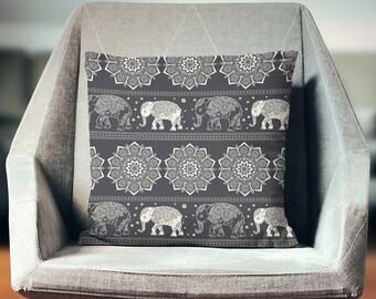 Elephant Pillow | Elephant Décor | Elephant Gift | Elephant Throw Pillow | Elephant Cushion | Elephant Decoration | Elephant Pillow Cover