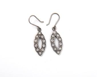Vintage French Art Deco dangle Earrings