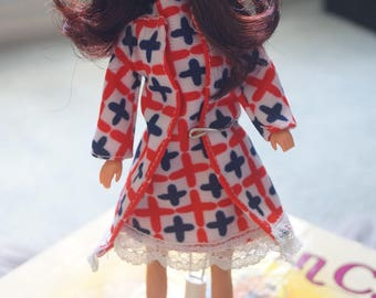 "Vintage Handmade Mod Doll Outfit for 8"" Dolls"