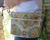 Golds and Blues Crossbody...