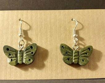 Green Butterfies