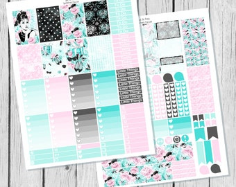 Glam || Planner Sticker Happy Planner Printable / Happy Planner Sticker Printable / Printable Planner Stickers / Weekly Sticker Kit