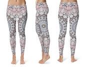 Mandala Pants. Womens Leggings. Mandala Yoga Leggings. Yoga Tights. Yoga Pants. Printed Leggings. Stretch Pants