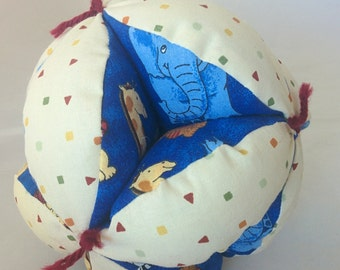 Clutch Ball with Jungle Animals