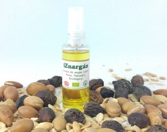 Oil of argan 100% pure natural and ecological