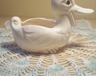 1950 Vintage Duck Planter from Japan