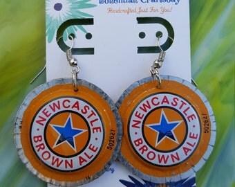 Newcastle Bottlecap Earrings