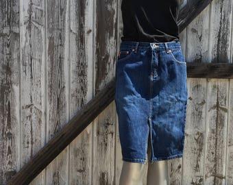 Women's Guess Jean Skirt Size 28