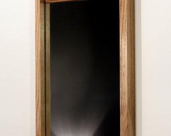 Stille mirror ~ 'Olive' English Sweet Chestnut
