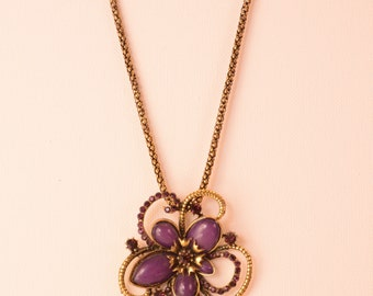 Flower Vintage Necklace