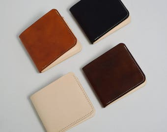 Wallets small - Vegetable Tanned Leather
