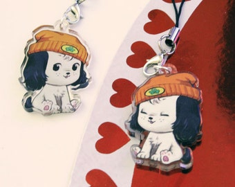 Parappa the Rapper 1.5 Inch Acrylic Charm