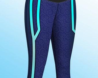 Overwatch Mei Cosplay Yoga Pants