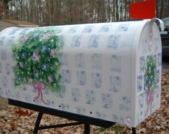 Charming Floral Rural Mailbox