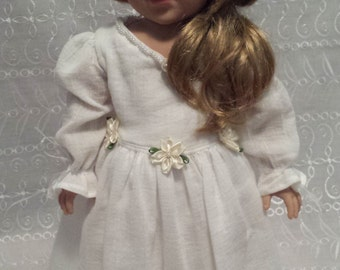 """Couture dress for 18"""" dolls, American Girl, Madame Alexander or Journey Girl."""