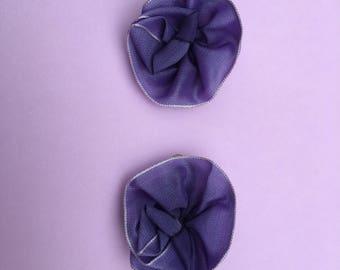 Vintage Ribbonwork ~ Ribbon Flowers