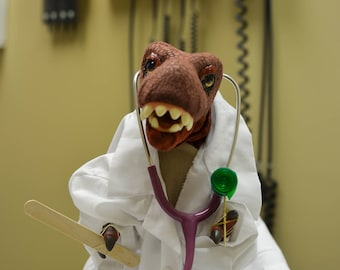 Doctor Dinosaur - Monty Rex Photo Series - Photography