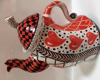 Whimsical Tea Pot