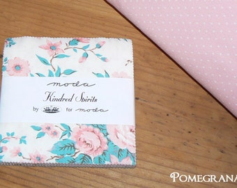 CHARM PACK Kindred Spirits by Bunny Hill  for MODA ... Soft pallette ...