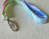 Natibaby Roses 2 Wrap Scrap Key Wrist Loop Lanyard - Keeps Your Keys Close