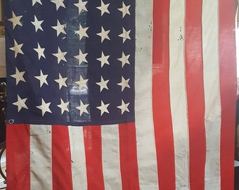 Old Glory Wool 48 Star Antique American Flag 5 X 9 Feet
