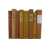 Yellow Gold Decorative Books, Vintage Wedding Decor , Vintage Book Decor , Home Decor , Photo Prop , Bookshelf Decor