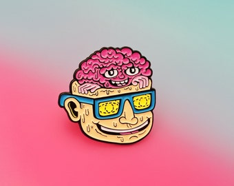 Teenage Lobotomy Enamel Pin