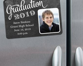 The Graduate Design - Photo Save the Date Magnets + Envelopes