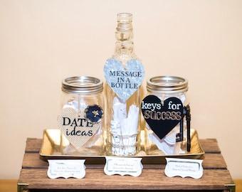 Wedding Jar Message to Bride and Groom